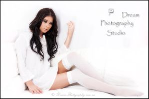 MM in white by DreamPhotographySyd