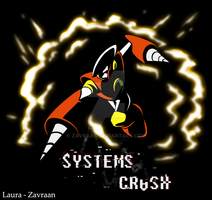 Systems crash - T-shirt design - With watermark by zavraan