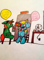 Five nights at pinkie's (up coming comedy series) by evil-vivianne