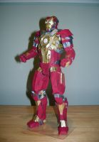 Iron Man Mark XVII ''HeartBreaker'' Papercraft by Arc-Caster135