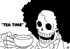 Brook Tea Time by FireMoose