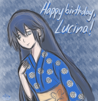 Happy Birthday, Lucina! by Sylverstone14