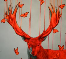 Wild Spirit - detail by LouiseMcNaught