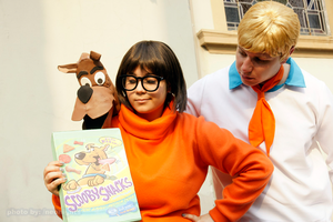 Scooby, Velma and Fred 002 by absolutequeen