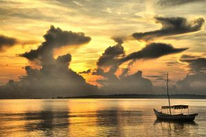 sunrise at belitong by rAtser