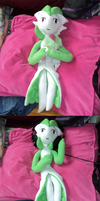 Gardevoir Plush is HUGE by The-Clockwork-Crow