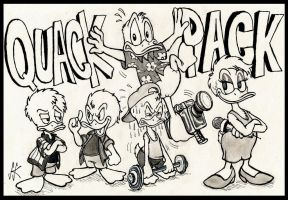Underrated Duck Daze - The Best of Quack Pack by devilkais