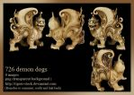 726 Demon Dogs by Tigers-stock