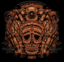 Rendertest: Skull Totem by IllustratorG