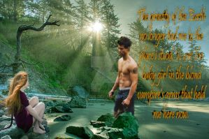 Nessie and Jake in La push by Allie06