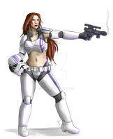 Stormtrooper Babe by Lmih