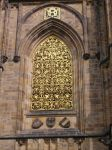 GOLDEN WINDOW CATHEDRAL PRAGUE PRAHA by isabelle13280