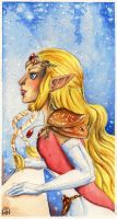 Zelda:It's Snowing by Wictorian-Art