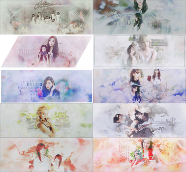 [SPECIAL PACK] HAPPY SNSD 9TH ANNIVERSARY by hanaphuong200