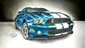 ford mustang by subhy