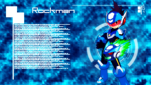 Megaman Starforce Wallpaper by SamanthaThresa