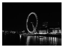 London Eye by Elessar91