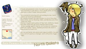 North Dakota Template by Keijuko-Ge