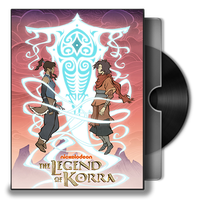 The legend of Korra Season 2 Spirits  DVD Icon by Omegas82128