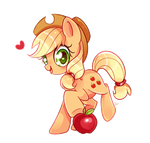 Applejack by Ipun