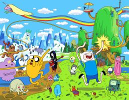 adventure time by becomeadeviant1