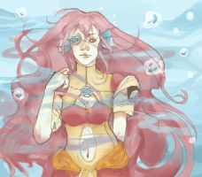 Myris Underwater - Commission by Inain1