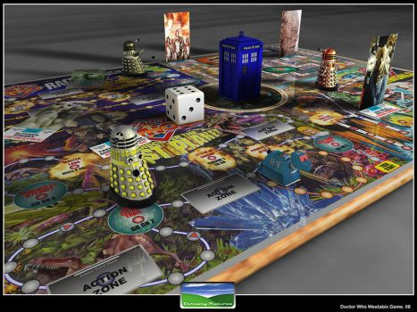 Doctor Who Board Game by FarawayPictures
