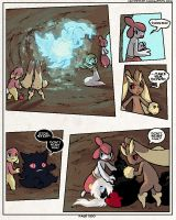 PMD: VF - 500: An Unexpected Arrival by sulfurbunny