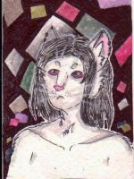 (ACEO) of August, Mark by PurpleWish23