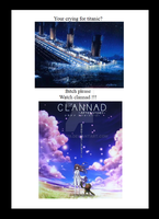 titanic vs clannad by Soul019
