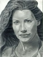 Evangeline Lily by theresebees