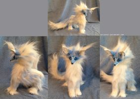Crescent - Pose-able Fantasy Fox - For Sale by SkyLocket