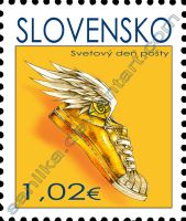 Postal stamp by saniika