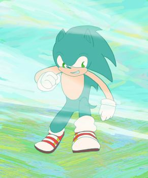 Sonic by icenose1997