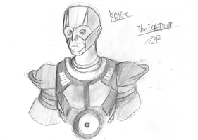 Red dwarf kryten finished by TheIcedWolf