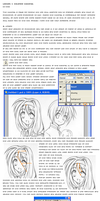 Lineart + Coloring Tutorial  A by toia