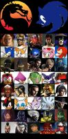 MK Vs STH Character Select Screen by sonamy-666