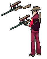 TF2: Sniper by UltraBananaBuddy