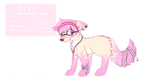 Sugar the Pocky Pup by PurryProductions-Inc