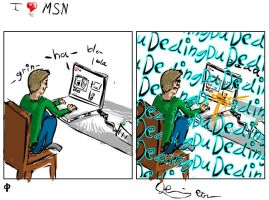 i love msn by thedbp
