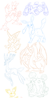 Pokestream Doodles by AR-ameth
