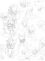 Tails scribble dump by BoredOutOfMyMindStud