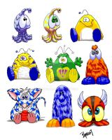 Plush Concepts by ARMORMAN