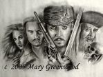 Pirates of the Caribbean by bloodymary99