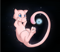 Mew by goldiesu