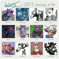 a year of poo by Wimawile