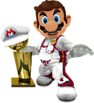 Mario's Trophy Time by FJOJR