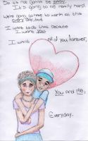 Just you and me by Notebook-Queen