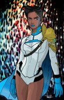 Earth-20 Power Girl by tsbranch