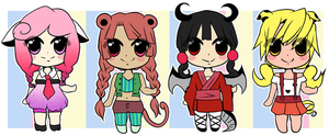 Leftover Zodiac Girl Adopts: CLOSED by Ivory-Ice